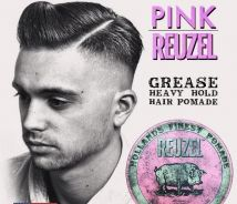 Reuzel Pink Grease Heavy Hold pomade Finest Hair