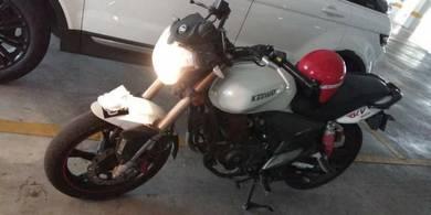 Its keeway benelli motor bike.