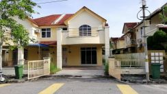 Semi Detached Double Storey Extra Room Bertam