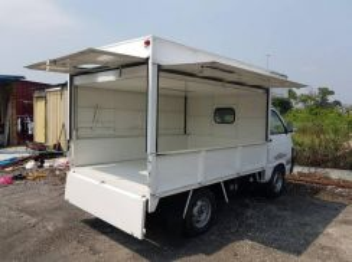 Daihatsu hijet 1.3cc food truck refurbish.macam