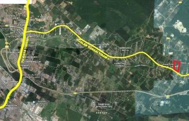 Sungai Tiram 2.5 acres agriculture land, ulu tiram