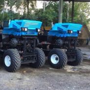 Palm oil tractors