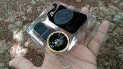 Clip lens wide angle fish eye