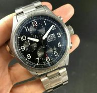 Steel pr0pil0t watch