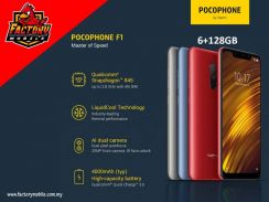 Xiaomi Pocophone f1 [ 6+128gb ] New Original My