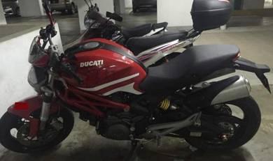 2012 Performance Big Bike Ducati Monster795 Urgent Sale