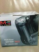 Battery grip Meike for canon 60D