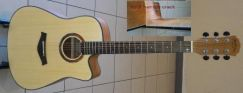 Mentreel DEFECT Acoustic Guitar 41Inch 180C Spruce