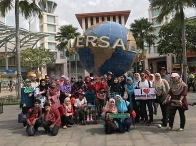 Pakej sehari ke Singapore