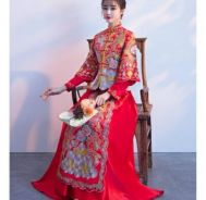 Long Feng Wedding Cheongsam 2018