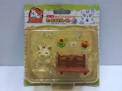 2002 Hamtaro Little Figures Set D