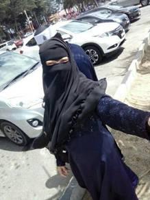 Preloved niqab qayla by Qibtiyyah exclusive