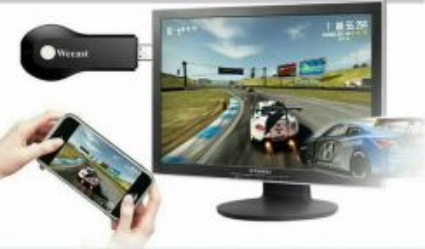 Wireless siaran langsung android/ios phone ke tv