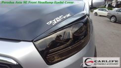 Perodua Axia SE Front HeadLamp Eyelid Cover