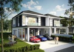 Cheras Wira Heights Double Storey Semi-d 40x103