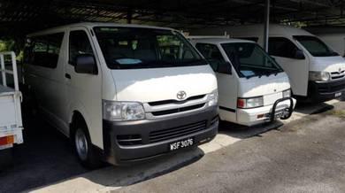 Toyota Hiace 2.5 (M) Diesel 2009
