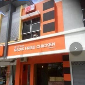 Restoran makanan segera untuk dilepaskan