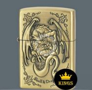 Zippo lighter SKULL and dragon