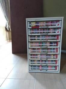 Thread cabinet cum multi colours thread