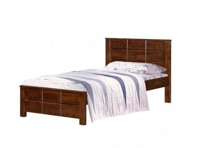 Katil kayu single bedframe perabot 400