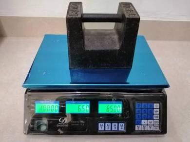 Timbang Digital 30kg Pasar Weighing Scale