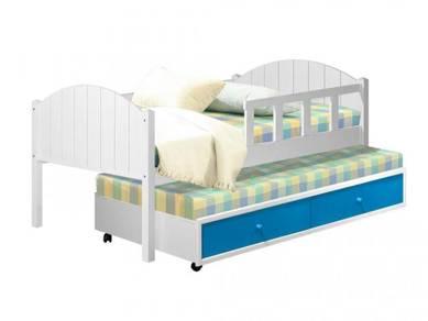 Katil kayu bed bedframe perabot 403