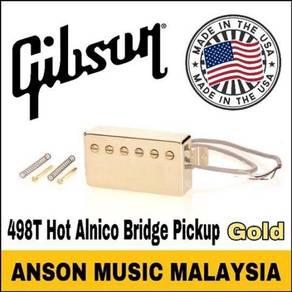 Gibson IM98T-GH 498T Hot Alnico Bridge Pickup,Gold