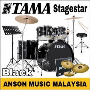 Tama Stagestar Drum Set w/Paiste 101,Black