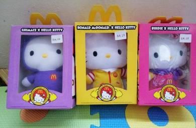Hello kitty mcdonald collection