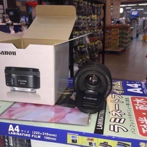 CANON 50mm 1.8f Potrait lens)