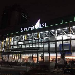Corner retail lot Summit USJ Subang LRT