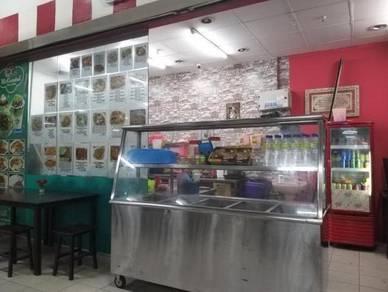 Kedai makan 2 pintu Giant Klang Sentral