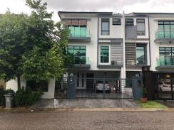 Taman Indah Height 3 Storey Cluster House ( Below Market Value )