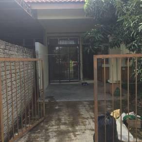 Rumah teres 1 tingkat untuk dijual
