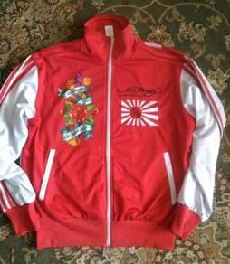 Ed Hardy Christian Audigier Letterman Japan Jacket