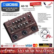 Boss AD-10 Acoustic Guitar Processor Pedal (AD10)