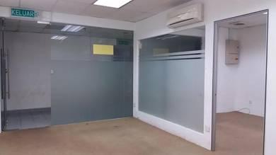 Office Lot UE3 Semi Furnished Near LRT Miharja Sunway Velocity Cheras