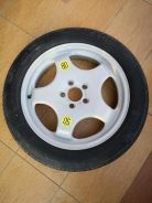 BMW X5 E53 Original 19 inch Spare Tyre