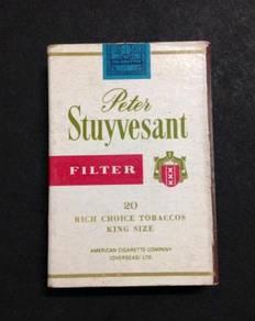 Collectible Match Box - Peter Stuyvesant