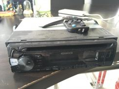 Kenwood cd usb player and power amp