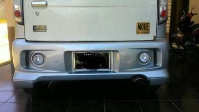 Bumper belakang l9 rs move kenari