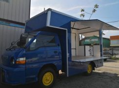 Food truck mobile cafe kitchen inokom 2014/15