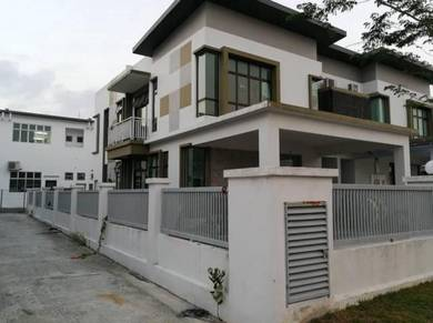 Pulai Hijauan End Lot Semi Detached House Kangkar Pulai