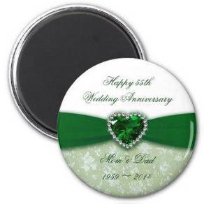 Wedding Doorgift Button Fridge Magnet