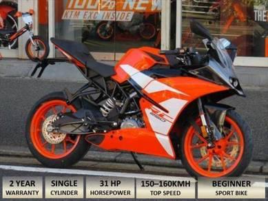 2018 KTM RC 250 Free Akra Ekzos