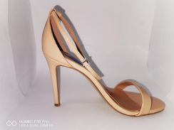 Beige Color High Heels