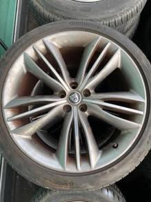 Jaguar XF XK XJL Grey Ori 10Jx20 Sport Rim+Tyres