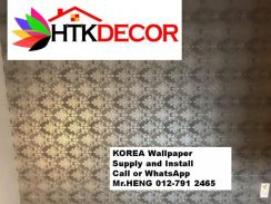 PVC Vinyl Wall Paper for various environments 29GJ