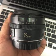 Canon used lens ef 28mm f 2.8