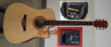 Acoustic-Electric Guitar 41Inch A&K #320-E